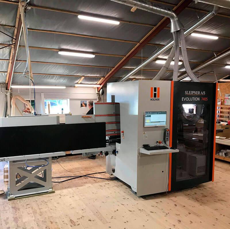 CNC maskiner